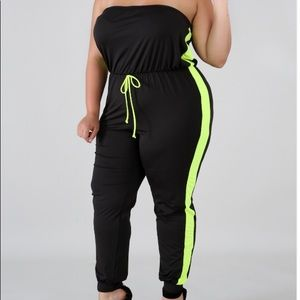 Pants - SPORTY BABE JUMPSUIT
